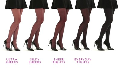01ce2a3c9 Women s Hanes® Premium Silky Ultra Sheer Control Top Toeless Hosiery. Shop  all Hanes Premium