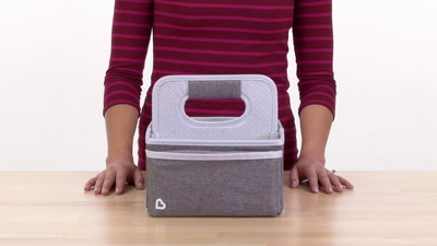 171db13c5d Munchkin Portable Diaper Caddy Organizer - Gray   Target