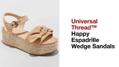 793fe9708ff Women s Happy Espadrille Wedge - Universal Thread™   Target
