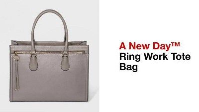 4f467887bb4c4 Women's Ring Work Tote Bag - A New Day™ : Target