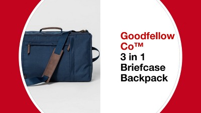 50e0b645413d 3 In 1 Briefcase Backpack - Goodfellow   Co™ Navy   Target