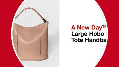 b6d2ac56df Women s Large Hobo Tote Handbag - A New Day™. Shop all A New Day™. Play  53178201  Large Hobo Tote Handbag - A New Day™ ...