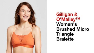 c1f1504918b5bf Women s Brushed Micro Triangle Bralette- Gilligan   O Malley™   Target