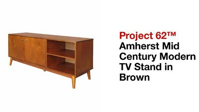 Amherst Mid Century Modern TV Stand Brown - Project 62™ : Target