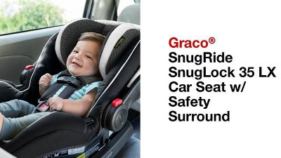 Graco SnugRide SnugLock 35 LX Infant Car Seat Featuring Safety