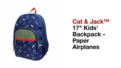 Kids Backpack Paper Airplanes 17 Cat Jack 15 Target
