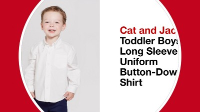 74fb30a6c05 Play Cat and Jack™ Toddler Boys  Long Sleeve Uniform Button-Down Shirt -. +  1 more