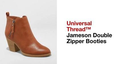 725759fda95 Women s Jameson Double Zipper Bootie - Universal Thread™   Target