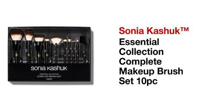 8bdaf1b8425 jacquelineaguileramua Looking for an affordable make up brush set that is  cheap but also good quality try out the #soniakashuk 10 piece brush it  available ...
