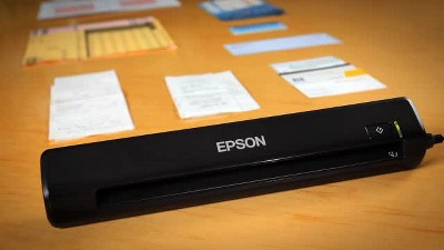 Epson Workforce Ds 30 Portable Document Scanner Target