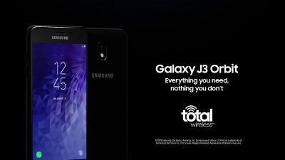 Total Wireless Prepaid Samsung Galaxy J3 Orbit (16GB) - Black