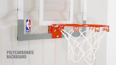 Spalding NBA Slam Jam Over-The-Door Team Edition Basketball Hoop ... 5af6b37442