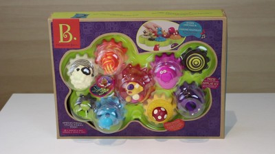 Musical Toys For 1 Year Olds : B toys mooosical gears light up musical shape sorter with singing