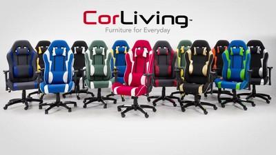 Adjustable High Back Ergonomic Gaming Chair Blueyellow Corliving