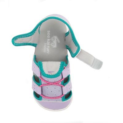 a2cfd34defbc Toddler Girls  See Kai Run Basics Spencer Fisherman sandals - Lavender