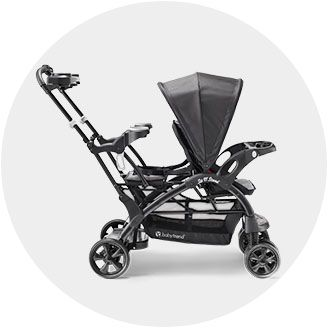 Double Triple Quad Strollers Car Seat Carriers