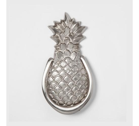 Pineapple Doorknocker - Silver - Smith & Hawken™