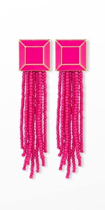 SUGARFIX by BaubleBar Brightly Beaded Tassel Earrings