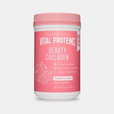 Vital Proteins Strawberry Lemon Beauty Collagen Dietary Supplements - 9oz