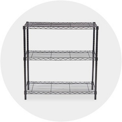 Shelving Units Storage Organization Home Target