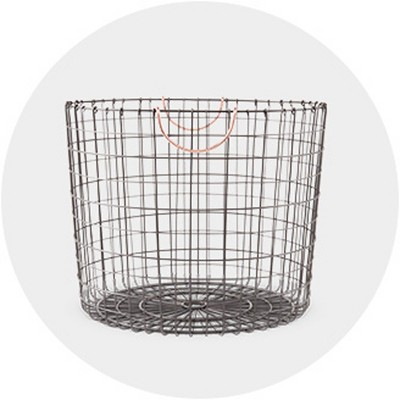 Badger Decorative Basket With White Liners Set Of 3  from target.scene7.com
