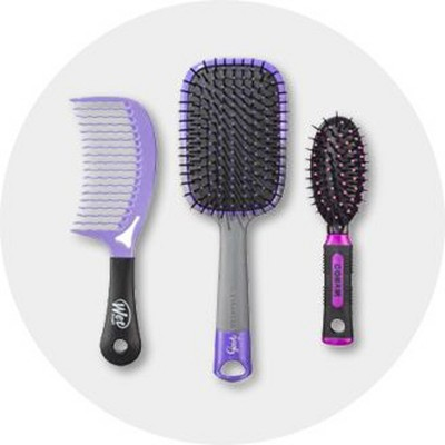 Hair Brushes & Combs, Care, Beauty : Target
