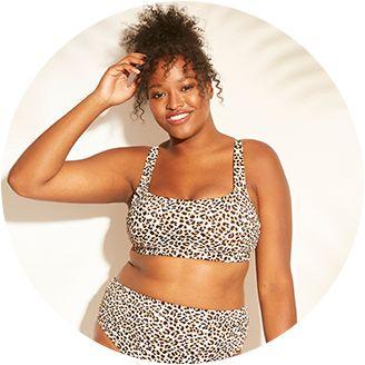 007095eeafe Women s Plus Size Swimwear   Target