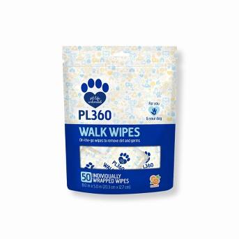 PL360 Dog Walk Wipes - 50ct