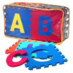 Edushape Edu Tiles Foam Numbers And Letters Set 36 Piece