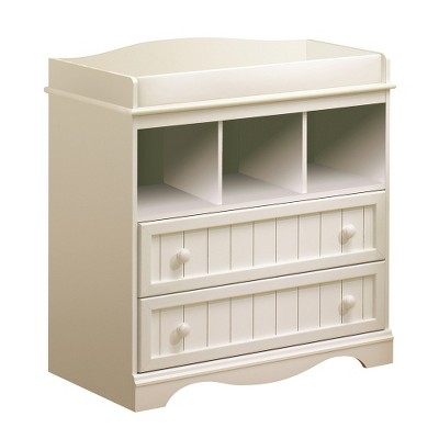 South Shore Savannah Changing Table-White