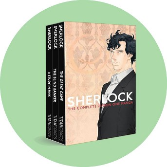Sherlock : The Complete Season One Manga -  (Sherlock) by Steve Thompson (Paperback)
