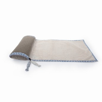 SmartyKat Scratch and Relax Cat Mat - Gray