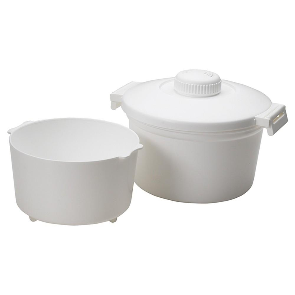 Nordicware Rice Cooker, White