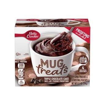 Betty Crocker Triple Chocolate Cake Mix Mug Treat