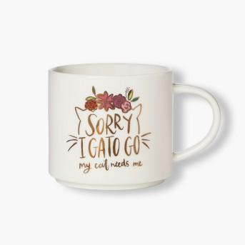 16oz Porcelain I Gato Go Mug White - Threshold™