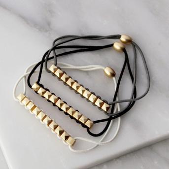 La-ta-da Bracelet Hair Ties - 3pc