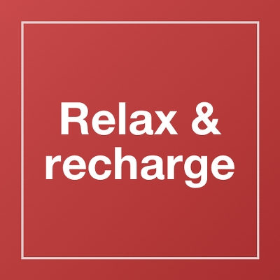 Relax & recharge
