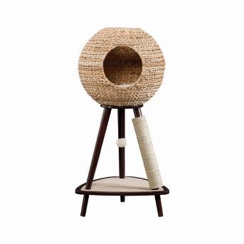 Sauder Natural Sphere Cat Tower - Brown