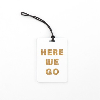 Path Luggage Tag - Here we go