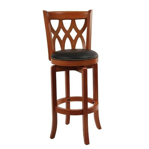 Cathedral Swivel Barstool Hardwood/Cherry - Boraam - image 1 of 1
