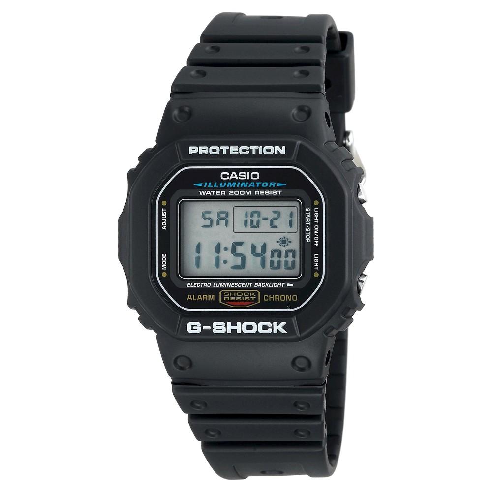 Mens Casio G-Shock Watch - Black (DW5600E-1V)