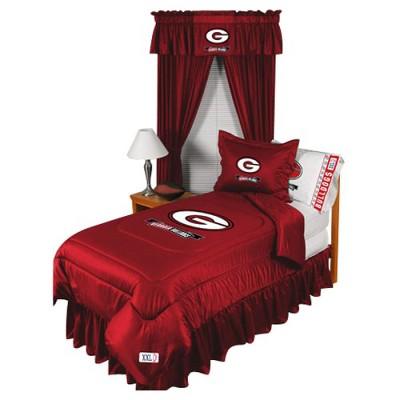 Georgia Bulldogs Comforter   Full/Queen
