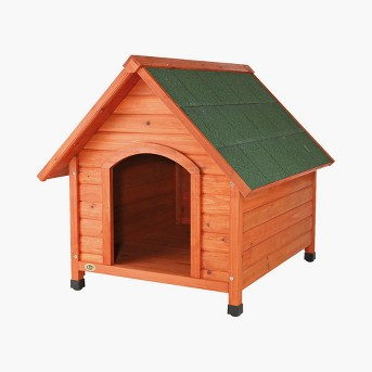 Trixie Log Cabin Dog House - Large - Brown