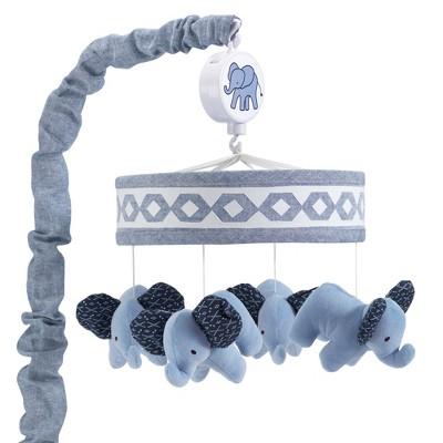 Lambs & Ivy Indigo Musical Mobile - Blue