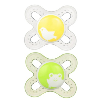 MAM Start Pacifier 0+ Months - 2ct Yellow