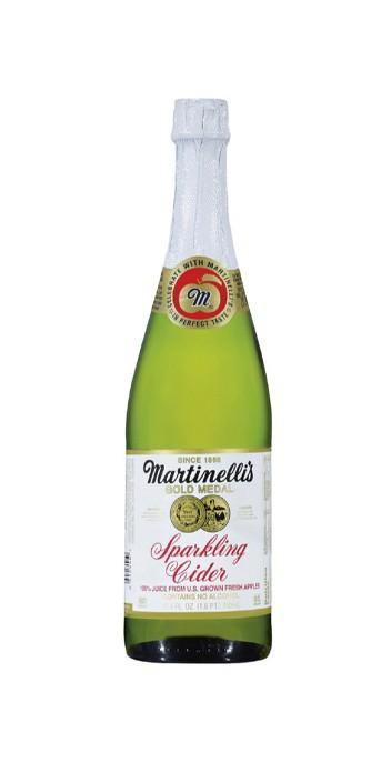 Martinelli's Gold Medal Sparkling Cider -25.4 fl oz Glass Bottles