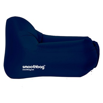 SmoothBag Inflatable Lounger Chair - Navy