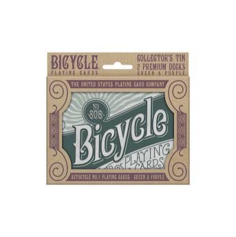 Bicycle Retro Tin Playing Card Game