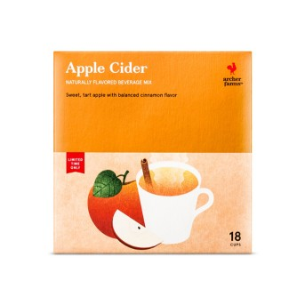 Spiced Cider - Single Serve Pods - 18ct - Archer Farms™