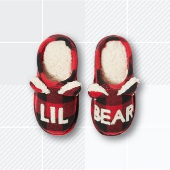 Kids' dluxe by dearfoams Slide Slippers - Red